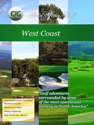 cover image of Good Time Golf: West Coast