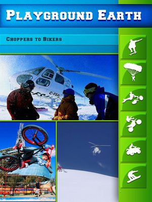 cover image of Playground Earth, Choppers to Bikers