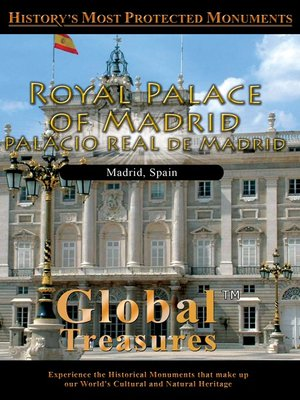 cover image of Royal Palace of Madrid Palacio Real de Madrid Madrid, Spain