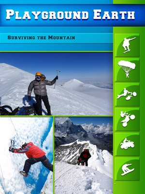 cover image of Playground Earth, Surviving the Mountain