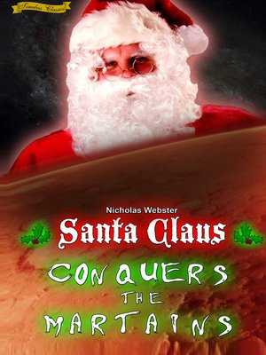 cover image of Santa Claus Conquers the Martians