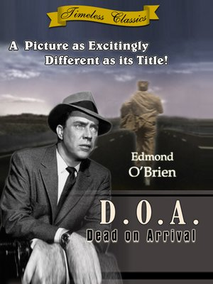 cover image of D.O.A (Dead on Arrival)