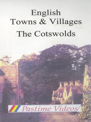 cover image of English Towns & Villages