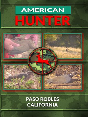 cover image of American Hunter, Paso Robles California