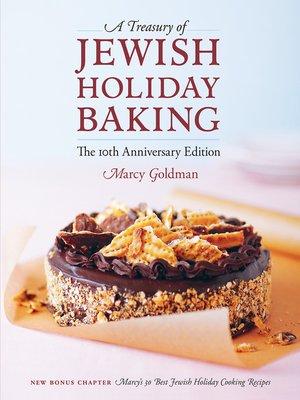 cover image of A Treasury of Jewish Holiday Baking
