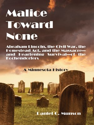 cover image of Malice Toward None