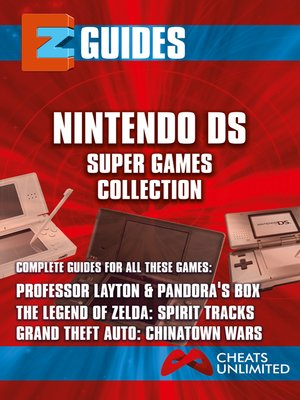 cover image of EZ Guides: Nintendo DS Super Games Collection.