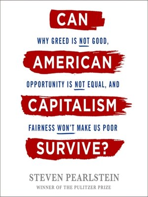 cover image of Can American Capitalism Survive?