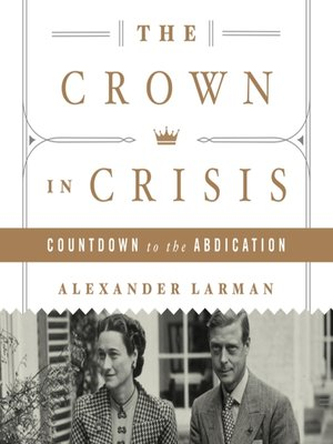 cover image of The Crown in Crisis