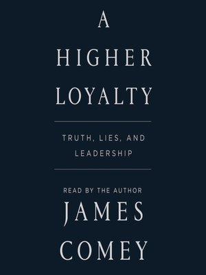 cover image of A Higher Loyalty