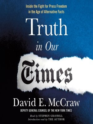 cover image of Truth in Our Times
