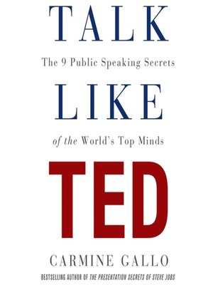 cover image of Talk Like TED