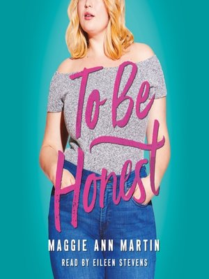 cover image of To Be Honest