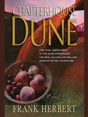 cover image of Chapterhouse Dune
