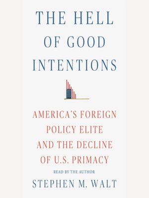 cover image of The Hell of Good Intentions