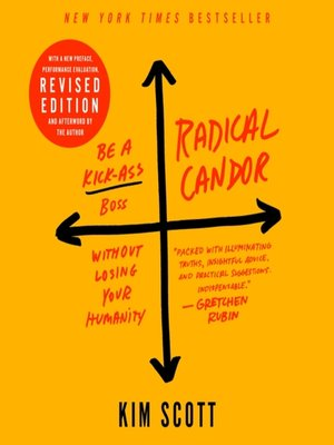 cover image of Radical Candor