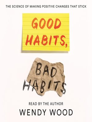 cover image of Good Habits, Bad Habits