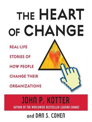cover image of The Heart of Change