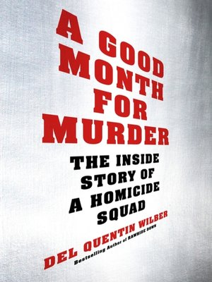 cover image of A Good Month for Murder