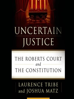 cover image of Uncertain Justice