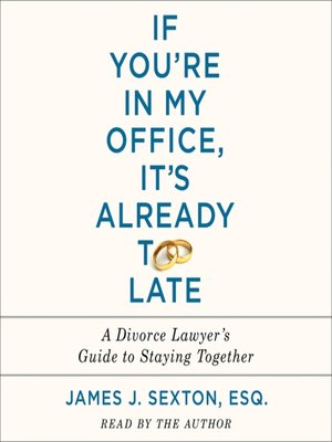 cover image of If You're in My Office, It's Already Too Late