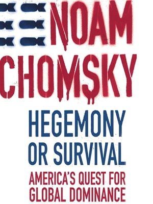 cover image of Hegemony or Survival