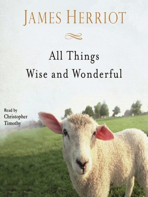cover image of All Things Wise and Wonderful