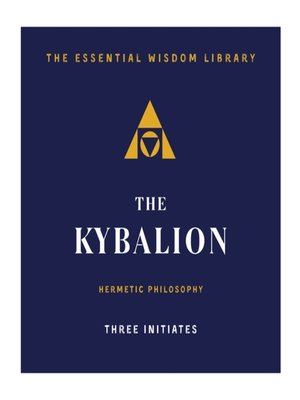 cover image of The Kybalion