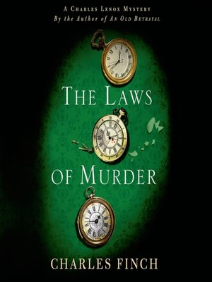 cover image of The Laws of Murder