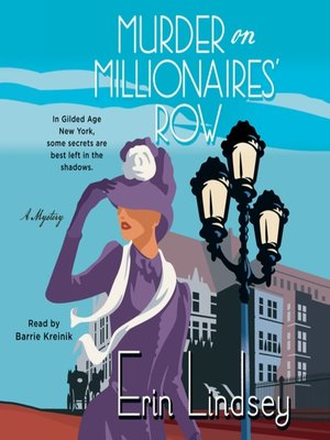 cover image of Murder on Millionaires' Row--A Mystery