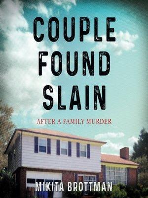 cover image of Couple Found Slain