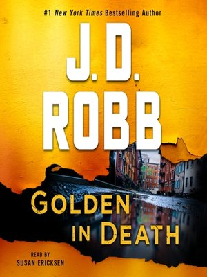 cover image of Golden in Death--An Eve Dallas Novel
