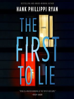 cover image of The First to Lie