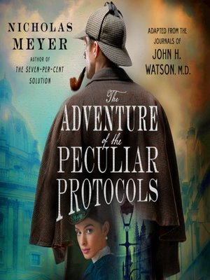 cover image of The Adventure of the Peculiar Protocols