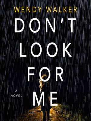 cover image of Don't Look for Me