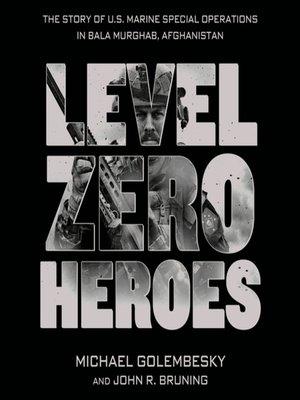 cover image of Level Zero Heroes