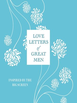 cover image of Love Letters of Great Men