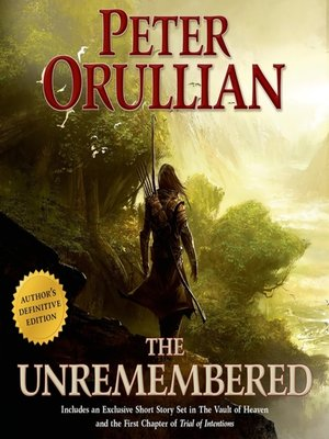 cover image of The Unremembered: Author's Definitive Edition