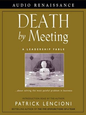 cover image of Death by Meeting