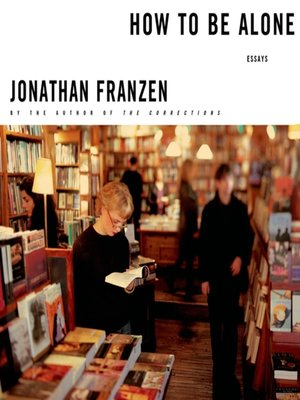 How To Be Alone Jonathan Franzen Pdf
