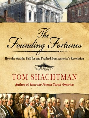 cover image of The Founding Fortunes
