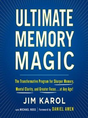 cover image of Ultimate Memory Magic