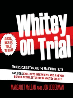 cover image of Whitey on Trial