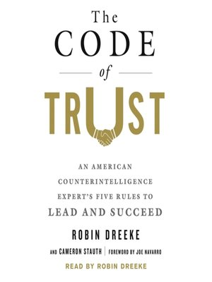 cover image of The Code of Trust