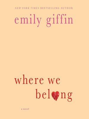 cover image of Where We Belong