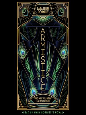 cover image of Armistice--Book 2 in the Amberlough Dossier
