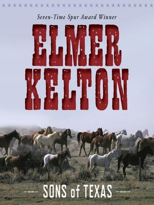 cover image of Sons of Texas Series, Book 1