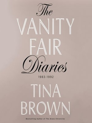 cover image of The Vanity Fair Diaries