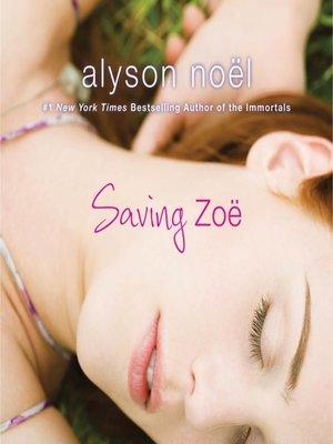 cover image of Saving Zoe