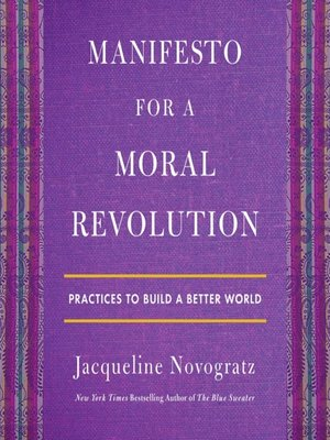 cover image of Manifesto for a Moral Revolution